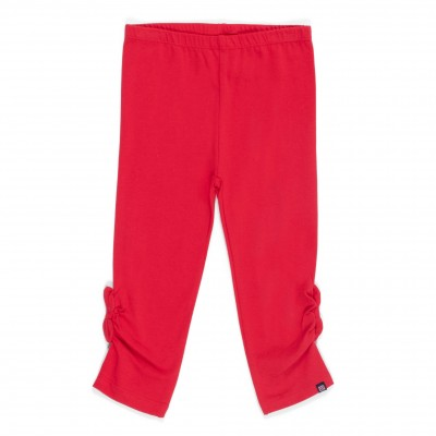 LEGGING 3/4 NANO COLLECTION DOUCEUR TROPICALE ROUGE 2 À 10 ANS