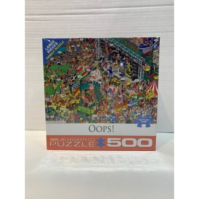 CASSE-TÊTE EUROGRAPHICS- 500 PCS-OOPS!