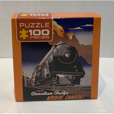 CASSE-TÊTE EUROGRAPHICS- 100 PCS-TRAIN