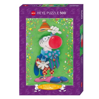 CASSE-TÊTE- 500 PCS- CLOWN
