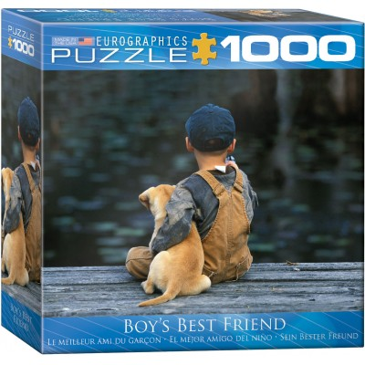 CASSE-TÊTE EUROGRAPHICS- 1000 PCS- BOY'S BEST FRIEND