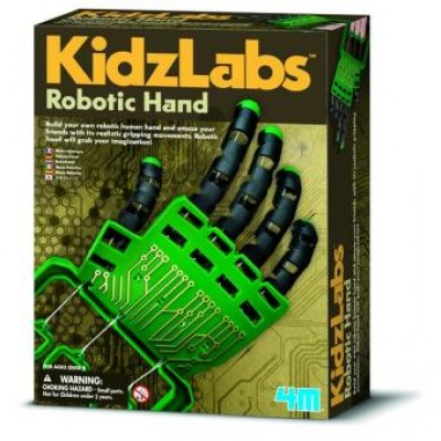 KIT DE FABRICATION D'UNE MAIN ROBOTIQUE KIDZLABS