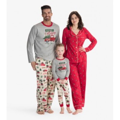 PYJAMAS 2 PIÈCES  HOMME HATLEY KEEP ON TRUCKING