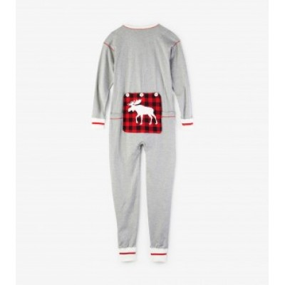 PYJAMA BAS DE LAINE ORIGNAL LITTLE BLUE HOUSE ONE PIECE ADULTE