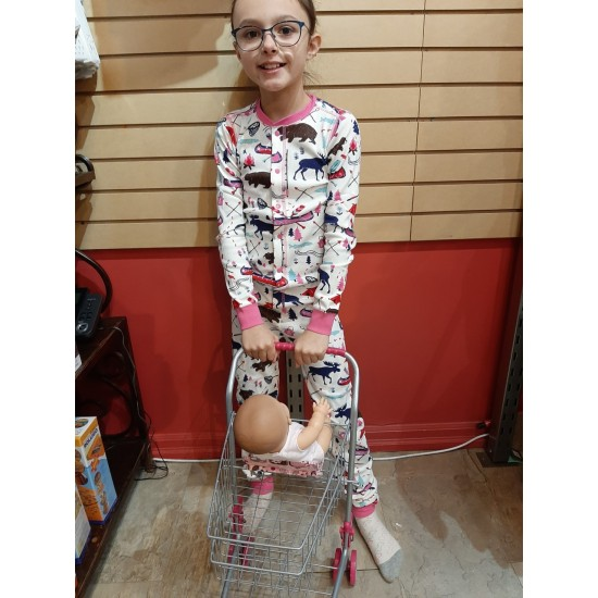 PYJAMA HAPPY CAMPER FILLE LBH ONE PIECE