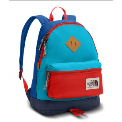 SAC À DOS THE NORTH FACE MINI BERKELEY BLEU ET ROUGE